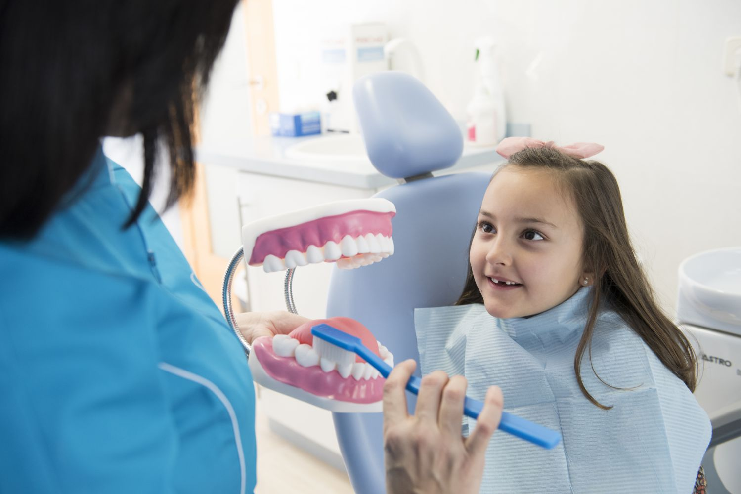 La higiene dental de los niños