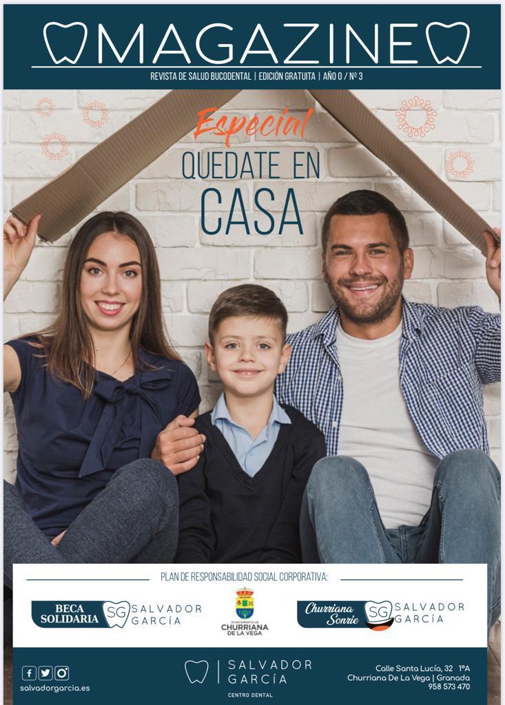 Revista MAGAZINE  -Especial coronavirus- Centro Dental Salvador García