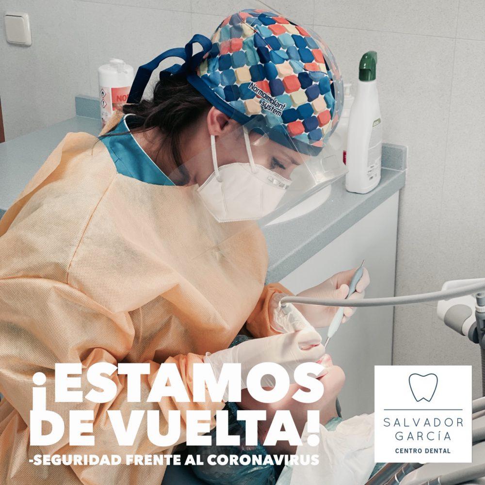 Protocolos de seguridad COVID-19 implantados en Centro Dental Salvador García