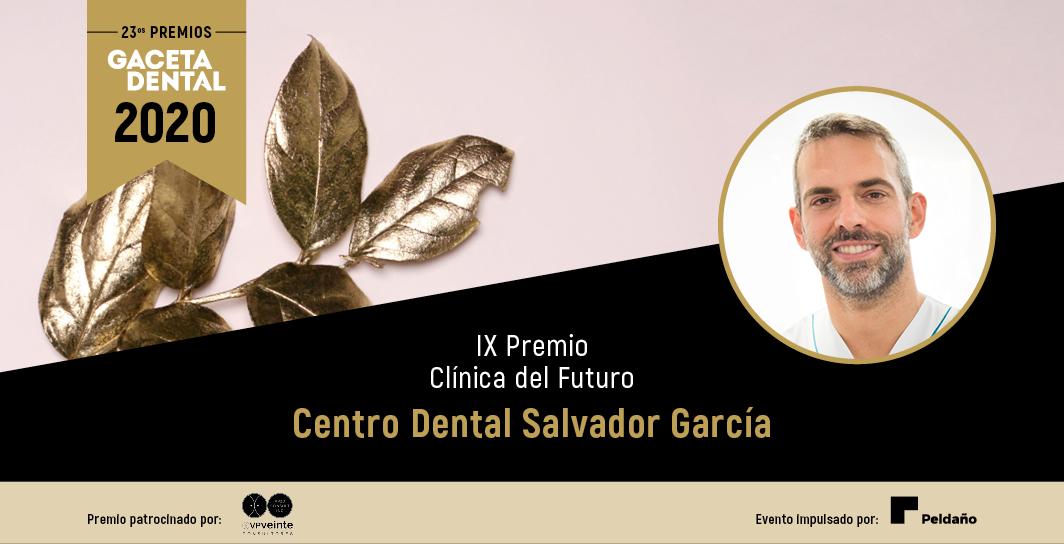 Centro Dental Salvador García, ganador del IX Premio Clínica del Futuro en la 23 Edición de los Premios Gaceta Dental