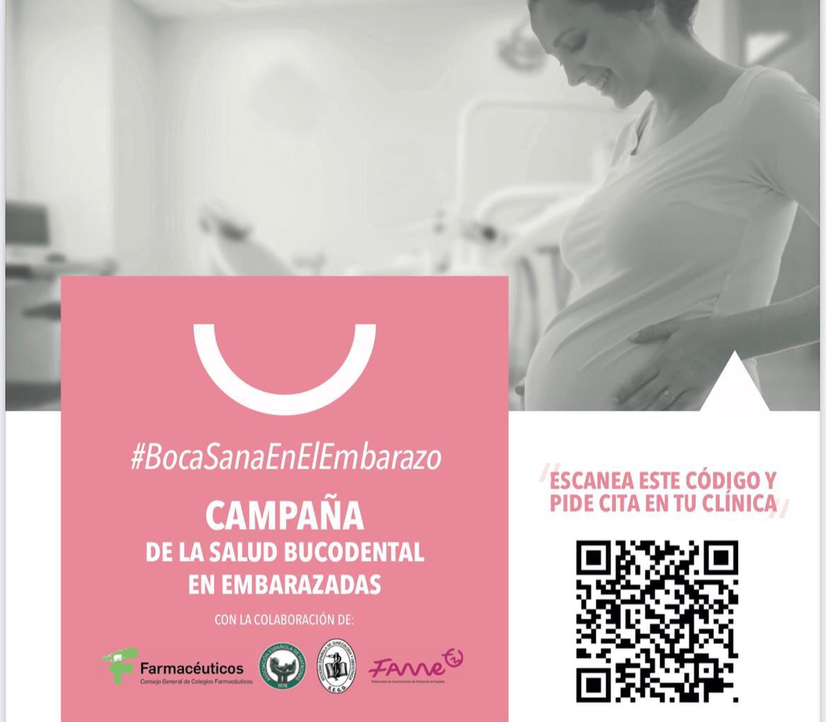 Centro Dental Salvador García participa en la IV Campaña Salud Oral y Embarazo